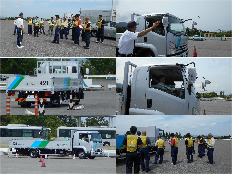 2019年度第1回安全運転基礎訓練 |センコーエーラインアマノ株式会社